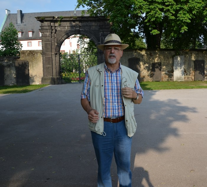 My Koblenz guide is hartmut, an amiable gentleman in his late sixties.