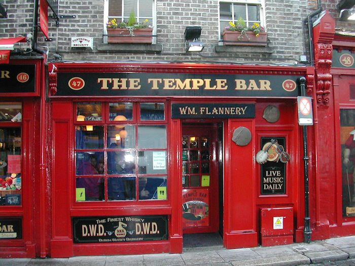 The Temple Bar- the most photographed pub in the world