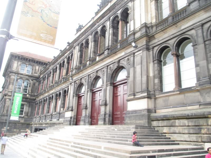 Victorian building, once the Royal Museum