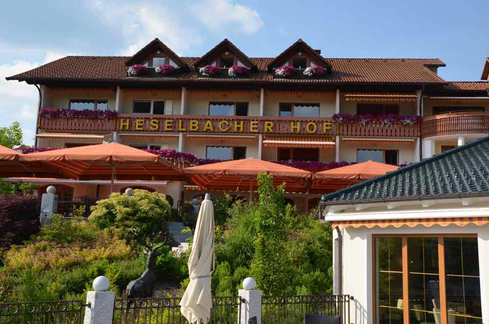 Heselbacher Hof Hotel & Spa. Get your beer treatment here