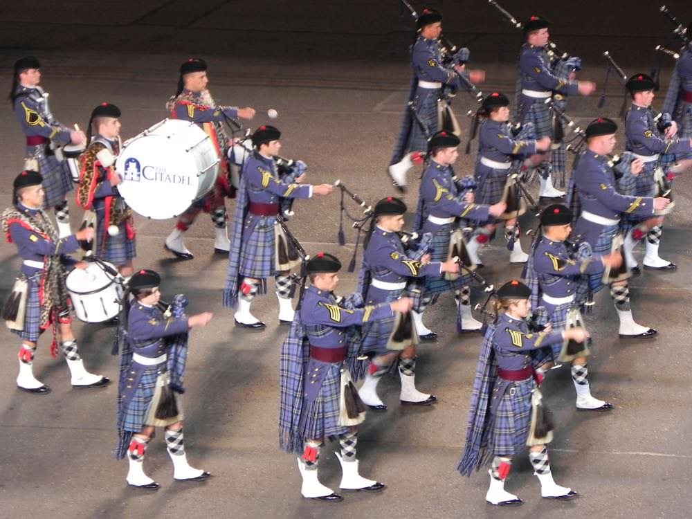 The stirring military bands that strut their stuff at the Edinburgh Tattoo are the very lifeblood of the event