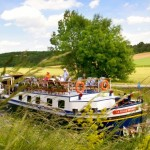 Luxury Hotel Barge Cruising on France's Beautiful Burgundy Canal