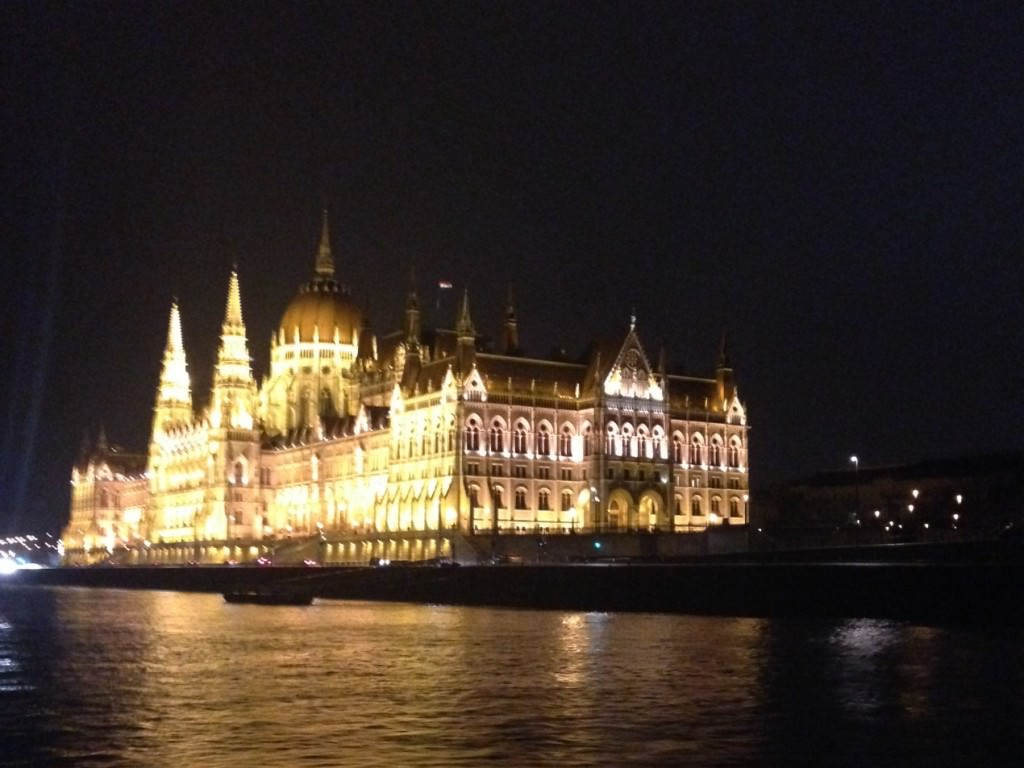 The Budapest Parliament as viewed from the AMABella