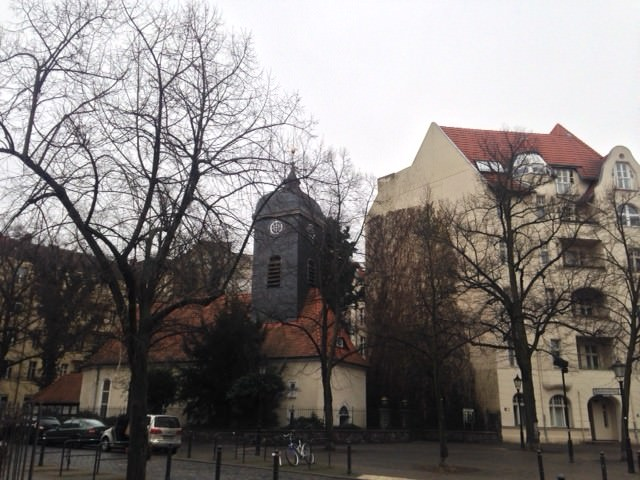 Richardplatz and Bethlehemskirche