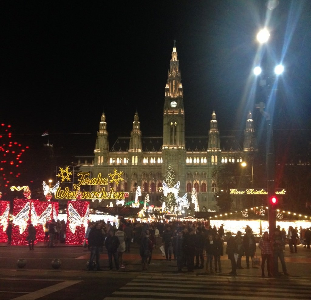 The Vienna Christmas market