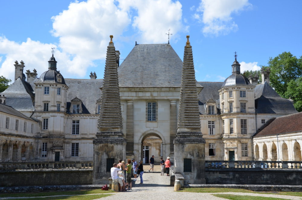 I'll never forget our personal room-by-room tour through the Renaissance Chateau de Tanlay, built by Francoise de Coligny, a leader of the early Protestant party, with its Louis XIII Triumphal Arch