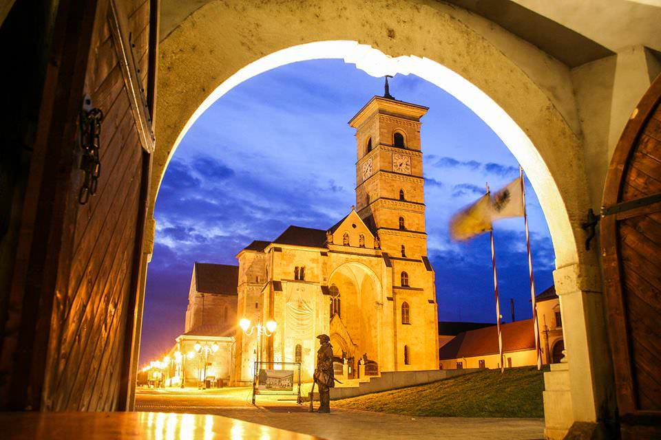 Alba Iulia's Catholic Cathedral