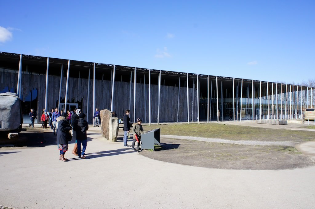 The new Visitors' Centre at Stonehenge