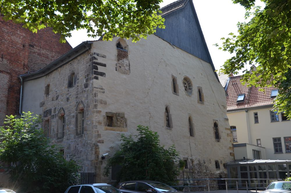 The old Synagogue in Erfurt, Germany