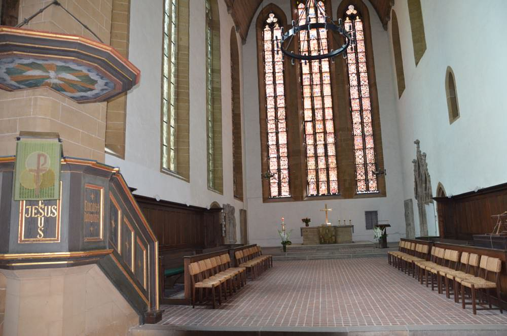 Martin Luther Received first communion from this altar