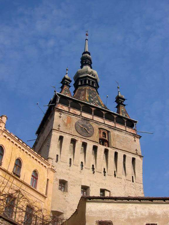 Four secondary spires show the city had the right to impose capital punishment