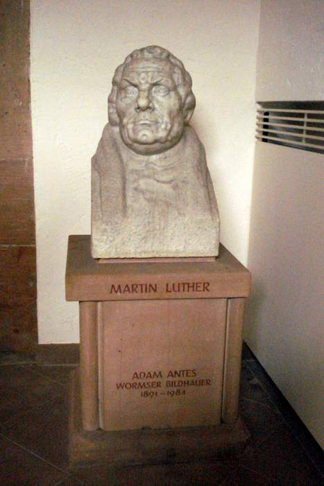 Bust of Martin Luther