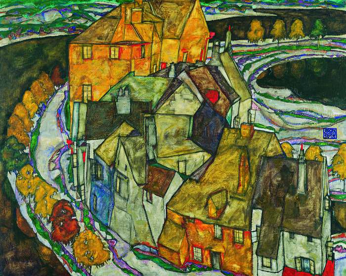 painting by Egon Schiele