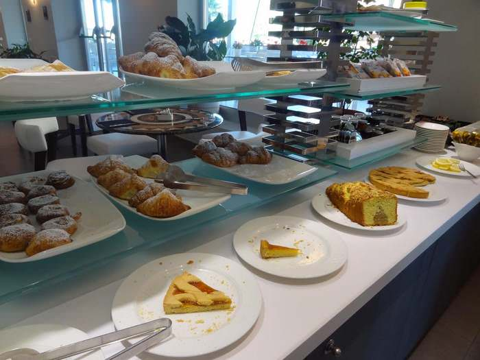 Buffet breakfast at Palazzo Virgilio