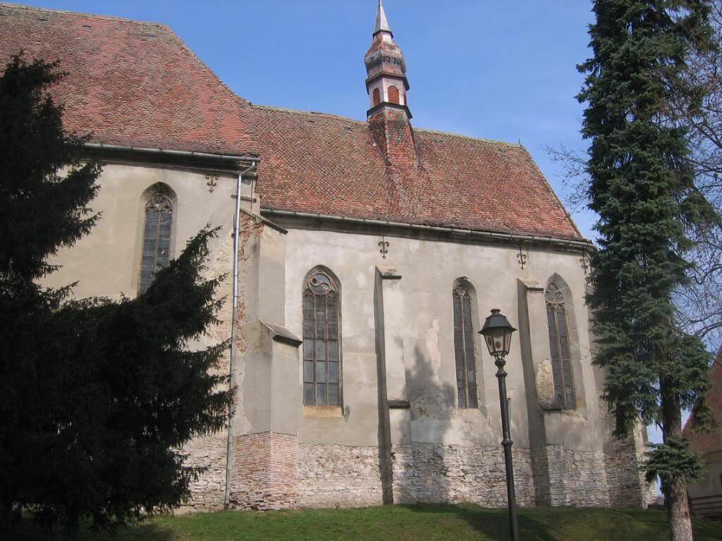 The Monastery Church is all that's left of a monastery complex