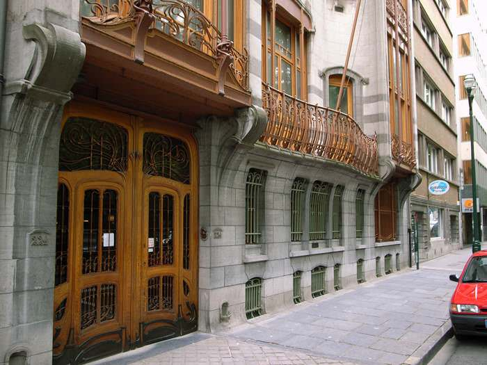 exterior of Hotel Solvay in Brussels