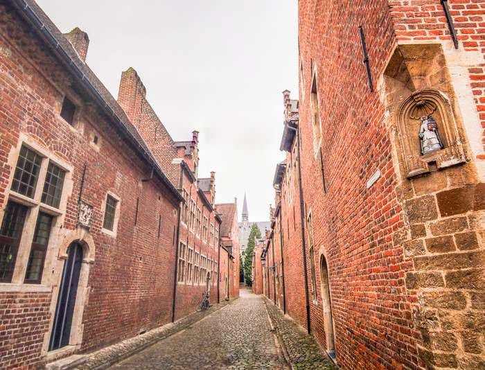 The Grand Béguinage in Leuven
