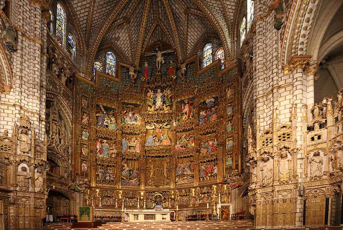Toledo Cathedral - the main Toledo, Spain attraction