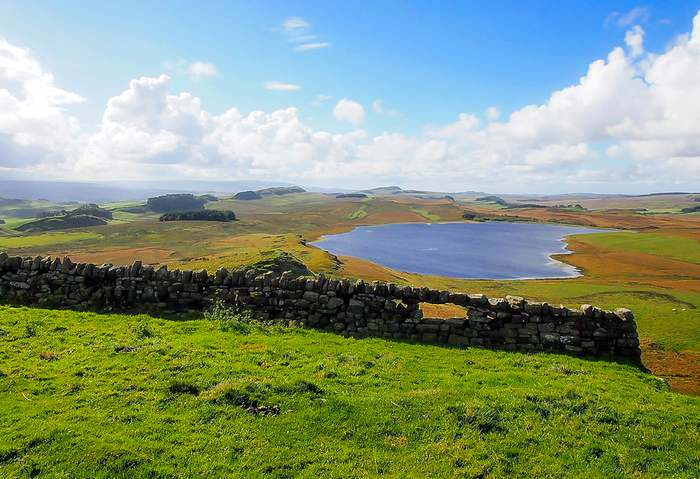 Lake near Hadrian's Wall