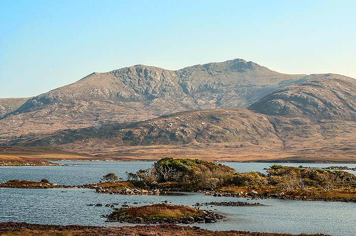 Loch Druidibeag in the Outer Hebrides