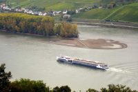 river boat on the Rhine RIver