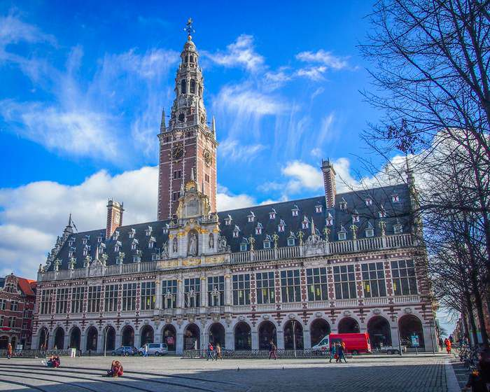 The University Library of Leuven