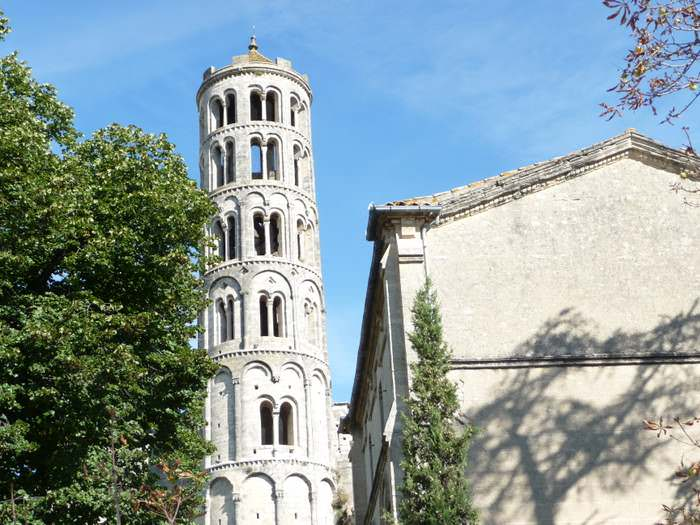 The Fenestrelle tower in Uzes