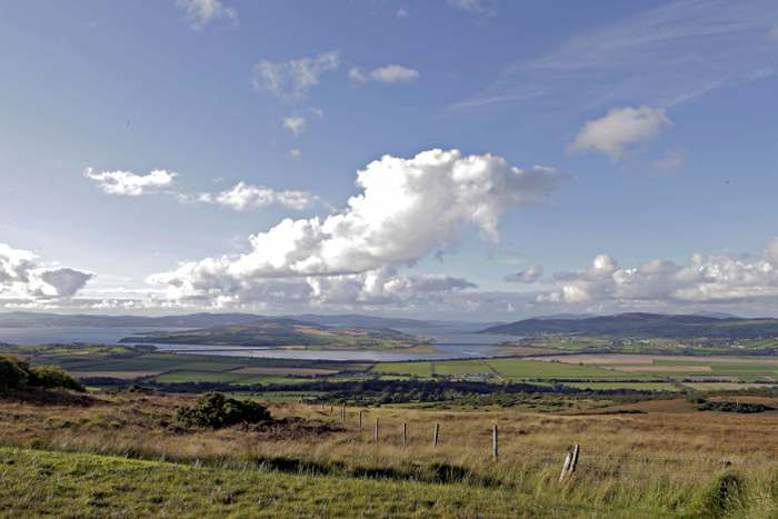The view from the Grianan of Aileach
