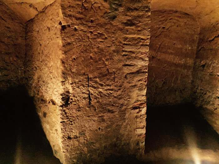 secret caves of Santarcangelo in Emilia-Romagna