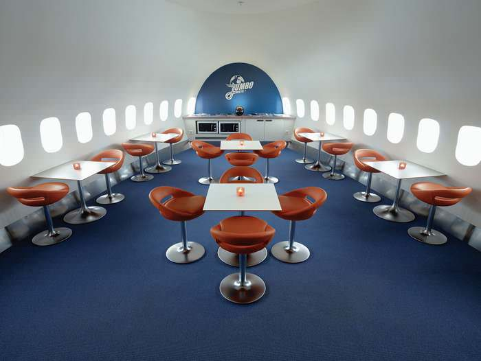 Dine in style at the Jumbo Hotel, a unique Scandinavian Hotel