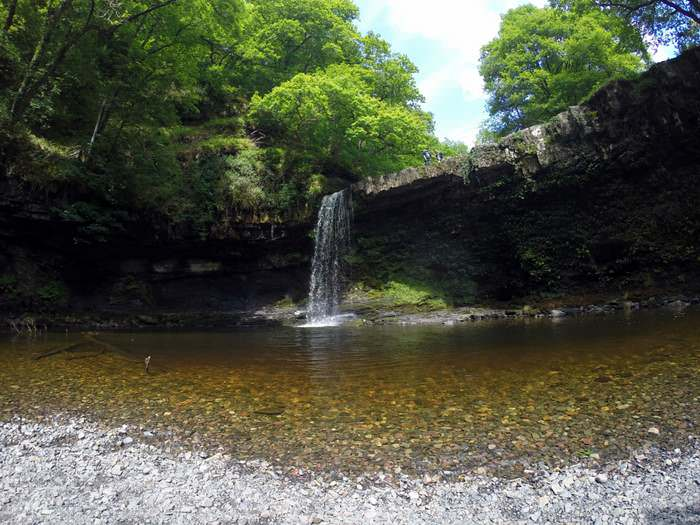 Sgŵd Gwladus, Gwladus Falls, photo by Erik Benton