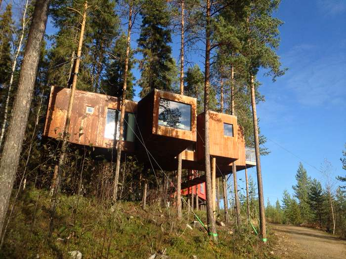 The Dragonfly at Treehotel in Northern Sweden