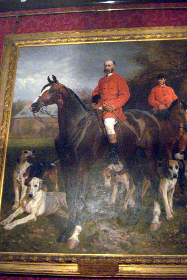 Painting of Godfrey Morgan in Tredegar House