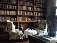 Adare Manor's Library Room.