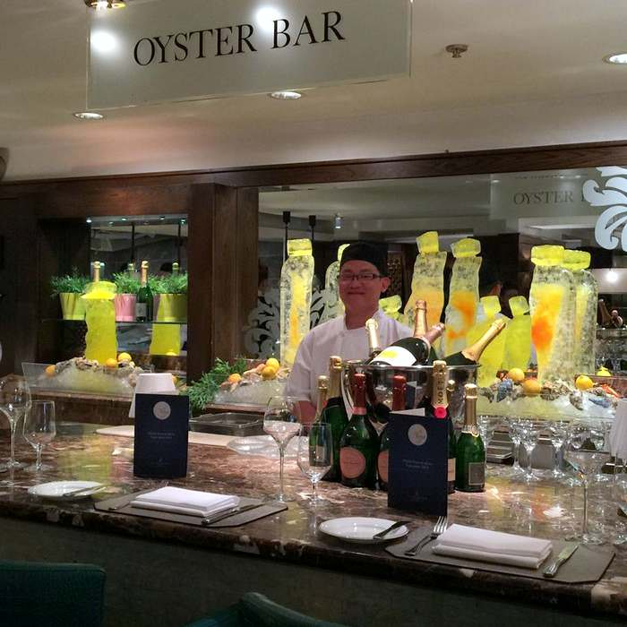 The Oyster Bar in Dublin's Shelbourne Hotel, one of Ireland's best hotels
