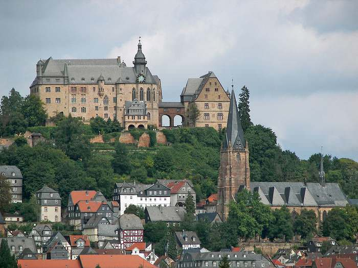 Marburg is one of Germany's fairy tale cities
