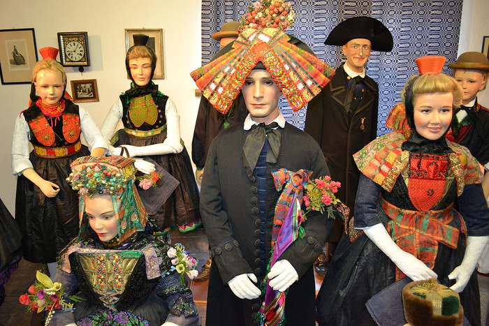 Traditional Wedding Costumes at the Museum of the Schwalm