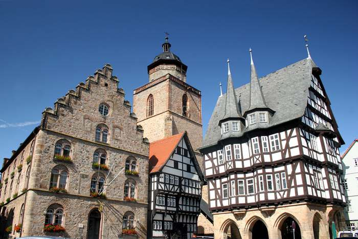Alsfeld is one of Germany's fairy tale cities