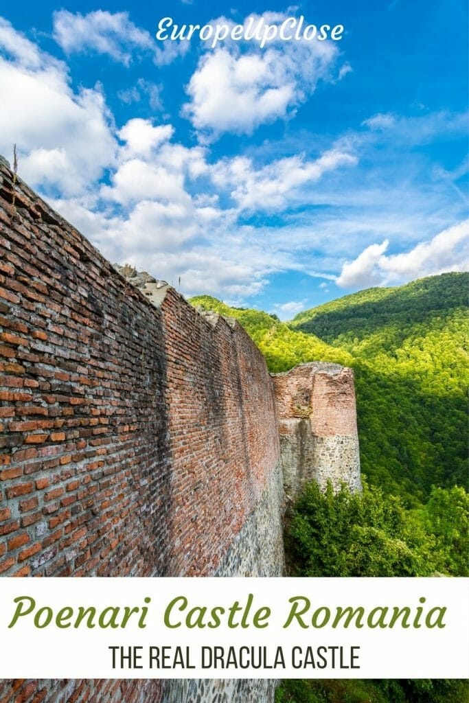 If you want to see the REAL Dracula castle, visit Poenari Castle, Romania. Explore this off-the-beaten-path home of Vlad the Impaler.