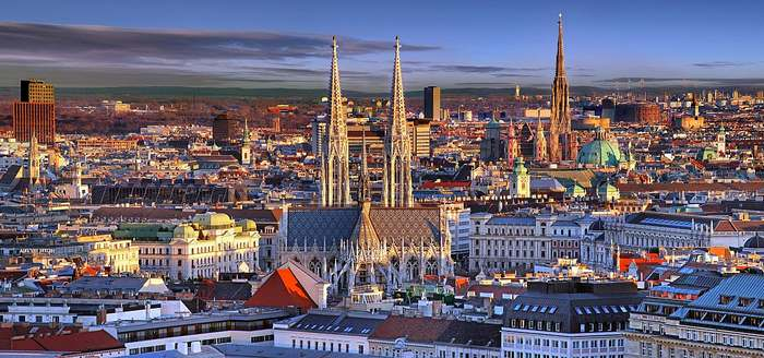 For spring travel in Europe, go to Vienna
