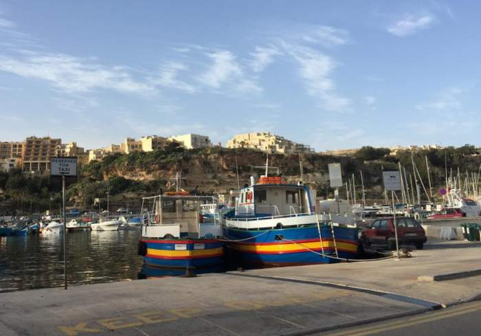 one of Gozo's many picturesque ports