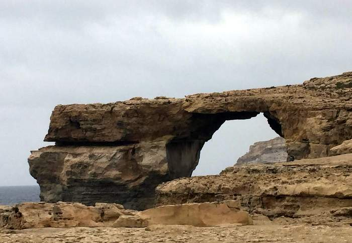 The Azure Window at Dewjra, Gozo