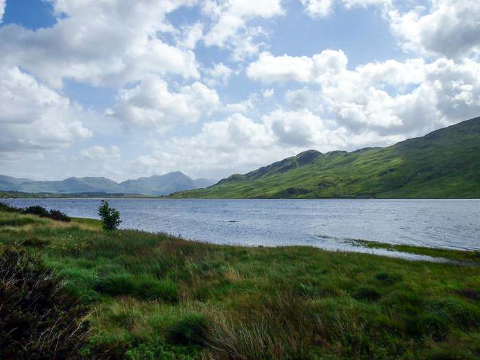 Killary Harbour in Connemara is great for hiking