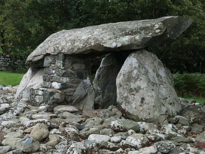 Dyffryn Ardudwy dolmens are located off the west coast road of Wales