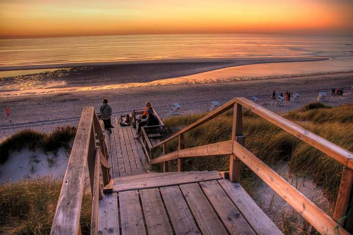 Sylt Beach in Germany, one of the best beaches in Europe