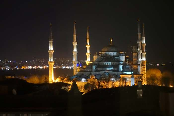 The blue Mosque is one of the seven turkish delights