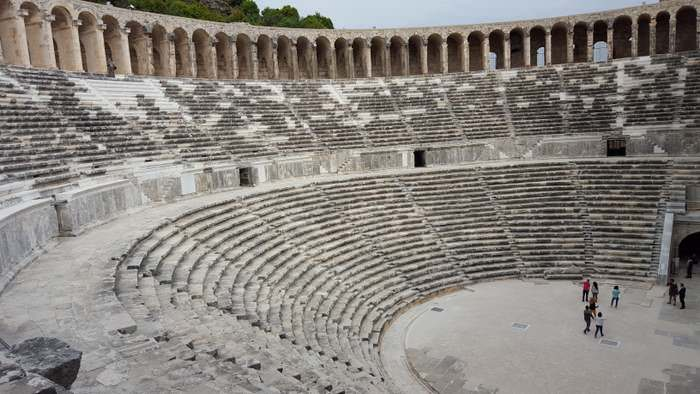 One of the many Turkish delights is the Aspendos Theatre