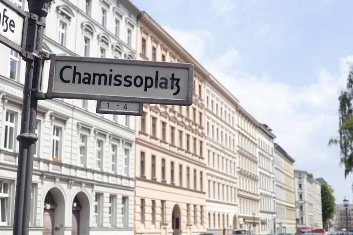 The Chamissoplatz in Bergmannkiez