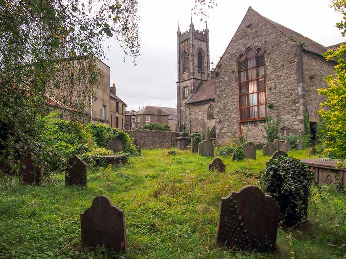 St. Mary's Church and Graveyard in Kilkenny