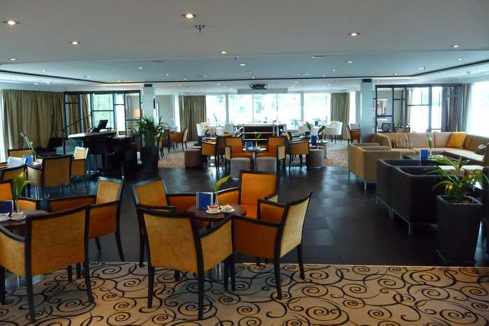 Relax on-board your Europe river cruise in the ship's lounge.